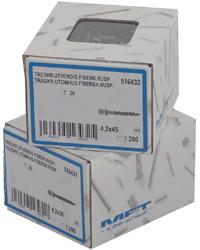 Skruepakke med 200 stk billige gulvskruer