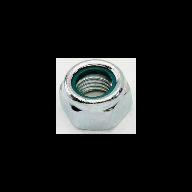 100 stk Elgalvaniseret låsemøtrik 10mm 985