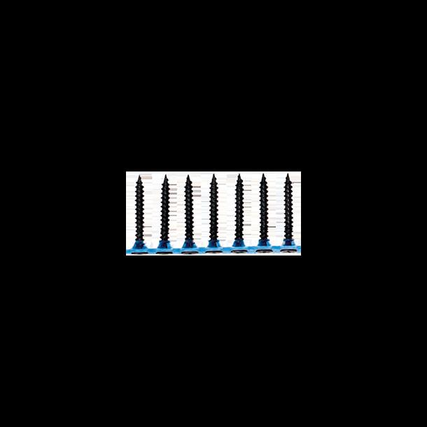Fibergipsskruer på bånd til vådrum 41mm PH-kærv