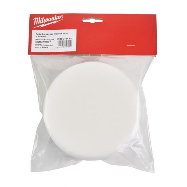 Milwaukee polersvamp 150 mm medium hårdhed