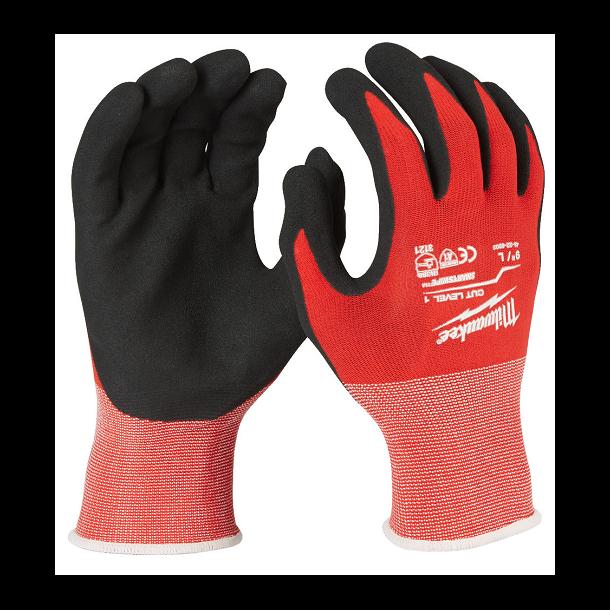 Milwaukee skærefast handske XL
