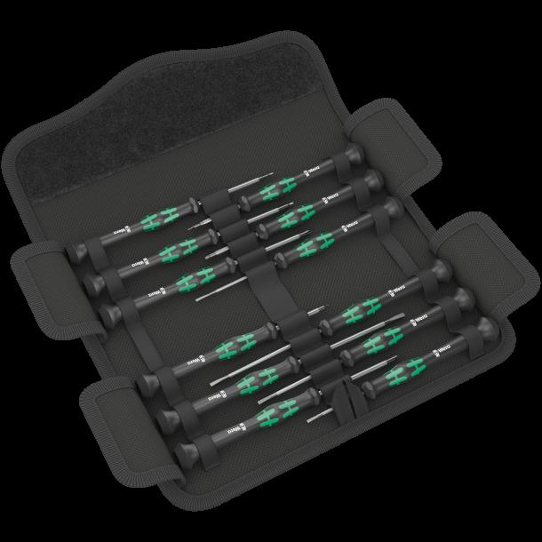 Wera Kraftform Micro skruetrækkersæt 12 dele