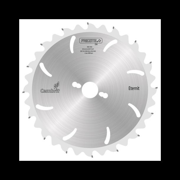 Frezite rundsavklinge til eternit 216X30 mm 14 td