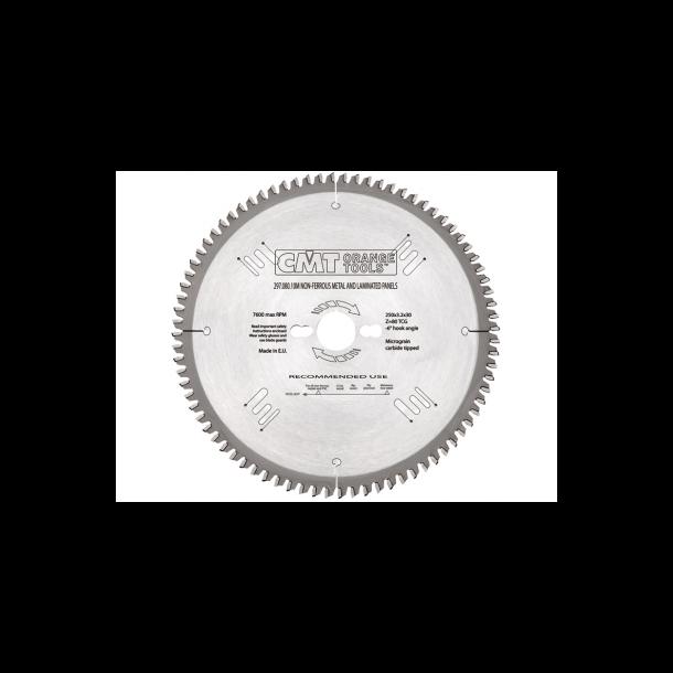 Cmt hm rundsavklinge laminat/alu 216x30 mm td 64