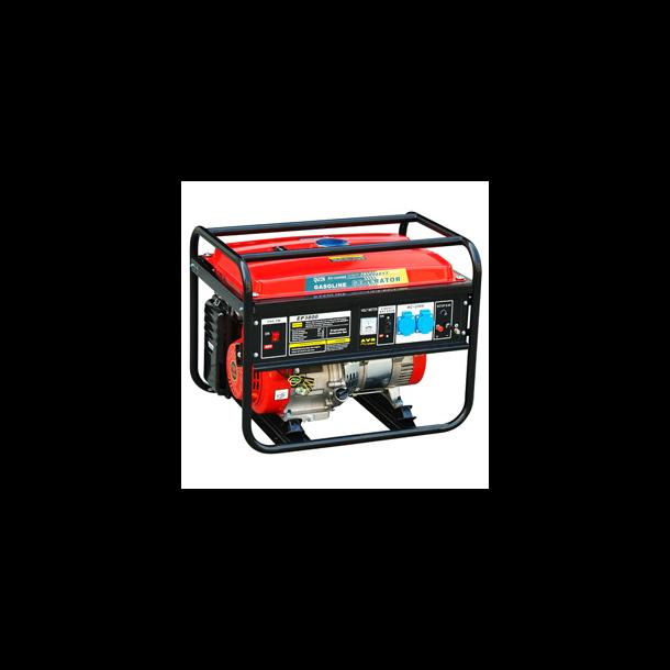 Benzingenerator 2700W 5.5hk 15L