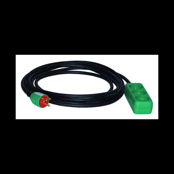 Forlængerkabel 10 mtr kabel 3g1,5