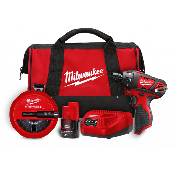 Milwaukee 12 V powerpack (M12BSET1A-20)