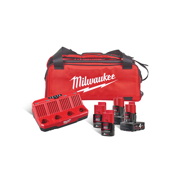 Milwaukee batteripakke 12 volt (M12NRG-424B)