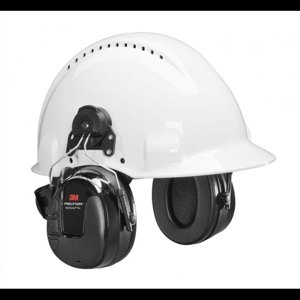 Peltor WorkTunes Pro FM høreværn t hjelmmontering