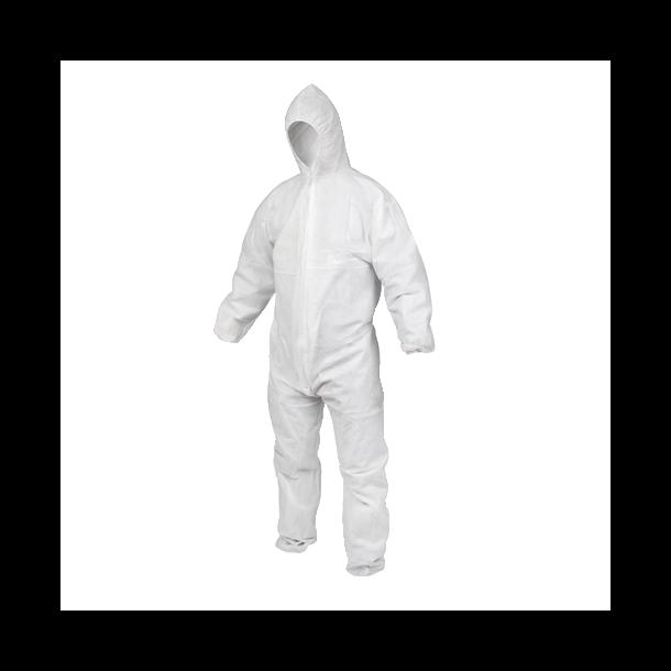 Engangs beskyttelsesdragt XL