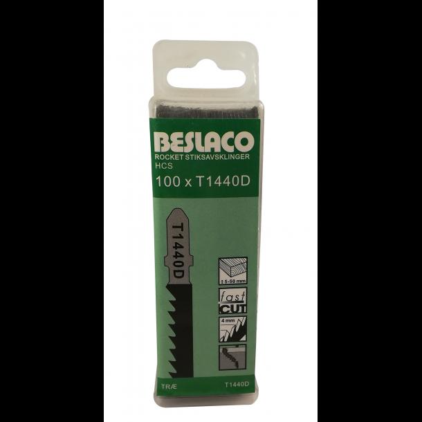 100 stk Beslaco stiksavklinger t1440d