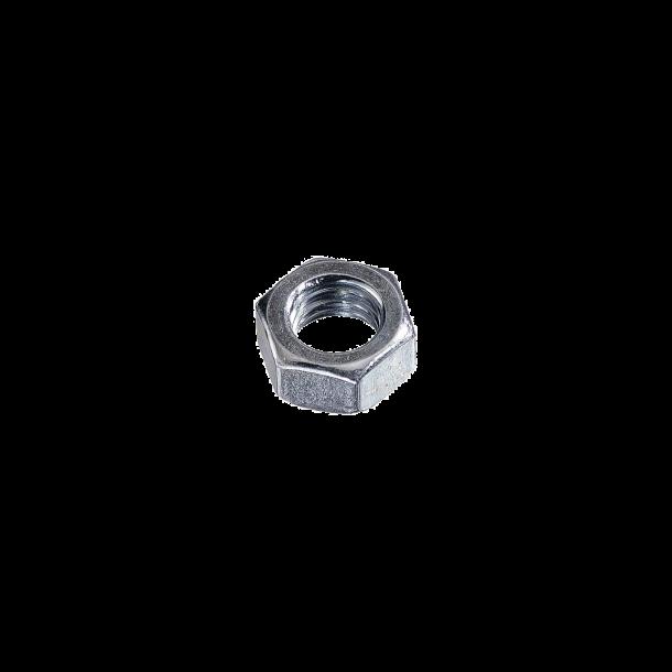 100 stk Elgalvaniseret stålmøtrikker 7mm 934