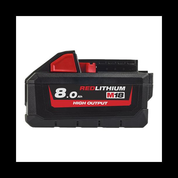 Milwaukee batteri 18v 8,0 a