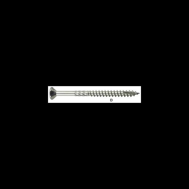 NKT Climate Spun+ G3 universalskrue 5,0x100 TX20