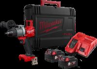 Milwaukee akku slagboremaskine med batteri og lader