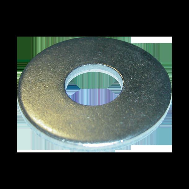 El-galv. skærmskive M20 - 22x60 mm - stykvis