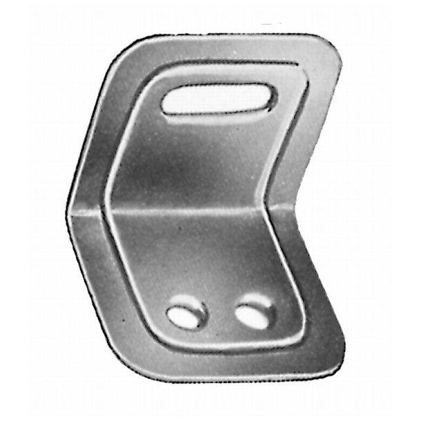 Elgalvaniseret riglejern 36x29x21 mm