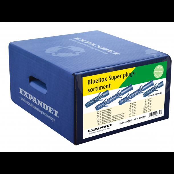 Expandet Bluebox Super plugs sortiment