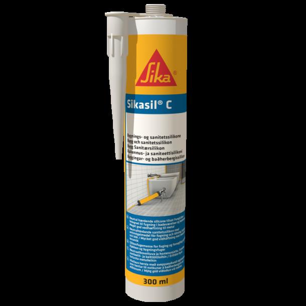 Sikasil-C lysgrå 300ml