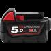 Milwaukee batteri 18V 5Ah