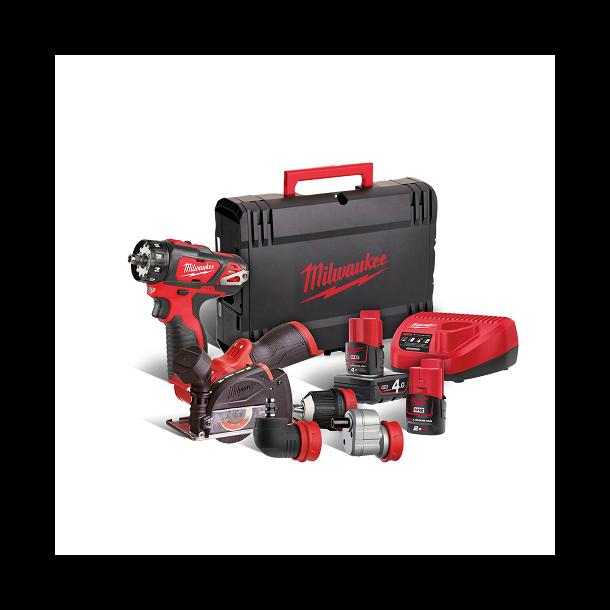 Milwaukee powerpack BDDXKIT + FCOT (M12FPP2E-422X)