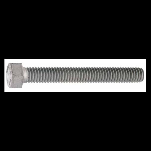 Varmgalvaniseret sætbolte 8x30mm