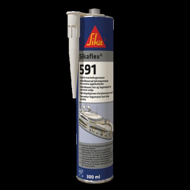 Sikaflex 591 fugemasse til marine sort 300 ml pt