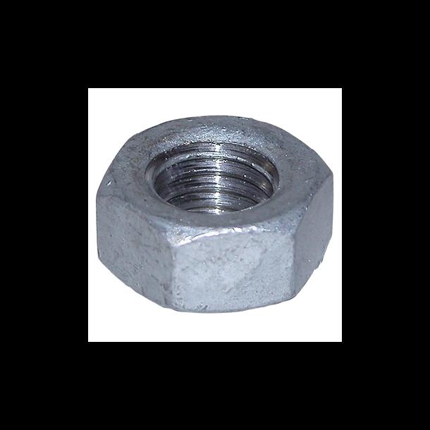 Varmgalvaniseret møtrik 16 mm - stykvis